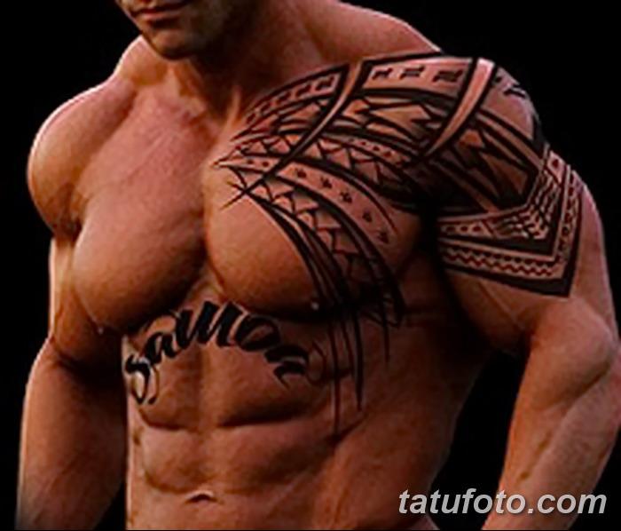 фото тату самоа от 10.10.2017 №157 - Samoan tattoo - tatufoto.com