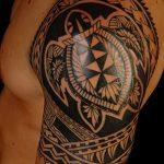 фото тату самоа от 10.10.2017 №160 - Samoan tattoo - tatufoto.com