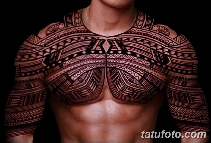 фото тату самоа от 10.10.2017 №164 - Samoan tattoo - tatufoto.com