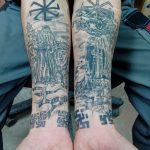 фото тату славянские от 08.10.2017 №097 - Slavic Tattoos - tatufoto.com