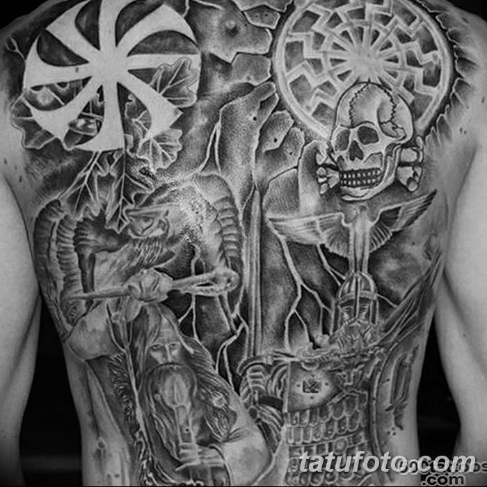 фото тату славянские от 08.10.2017 №111 - Slavic Tattoos - tatufoto.com