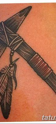 фото тату томагавк от 21.10.2017 №016 – tomahawk tattoo – tatufoto.com