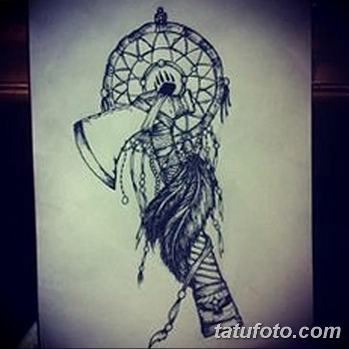 фото тату томагавк от 21.10.2017 №042 - tomahawk tattoo - tatufoto.com