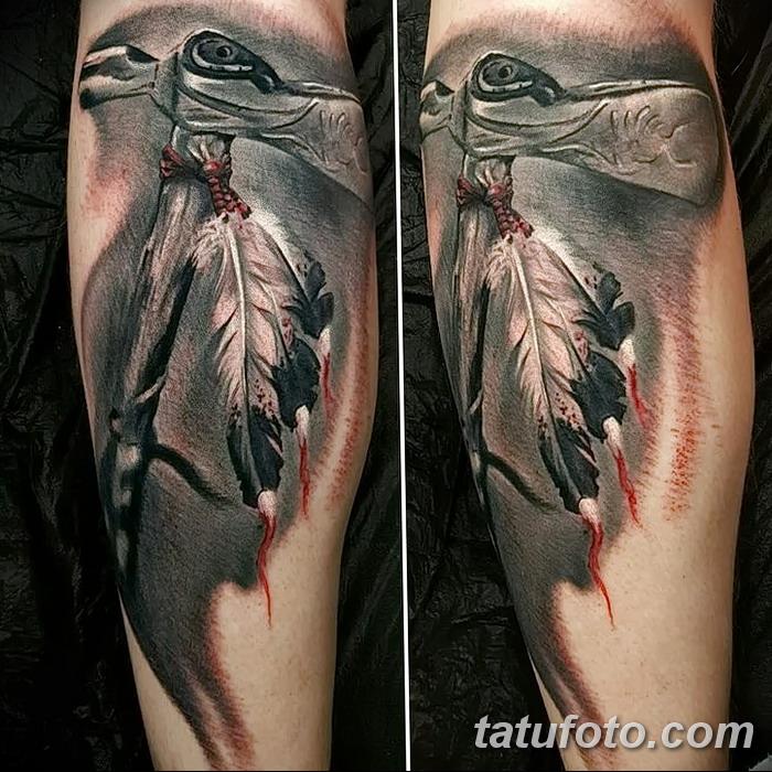 фото тату томагавк от 21.10.2017 №043 - tomahawk tattoo - tatufoto.com