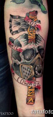 фото тату томагавк от 21.10.2017 №051 – tomahawk tattoo – tatufoto.com