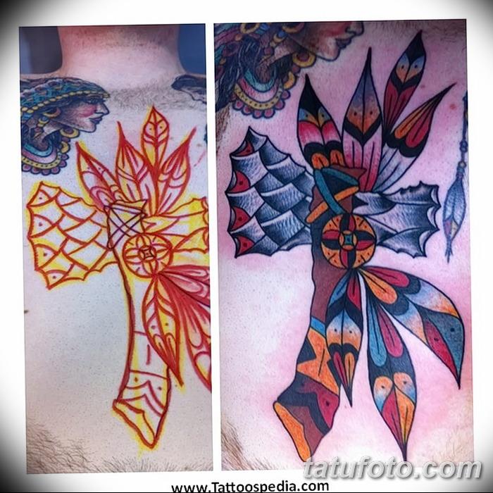 фото тату томагавк от 21.10.2017 №057 - tomahawk tattoo - tatufoto.com