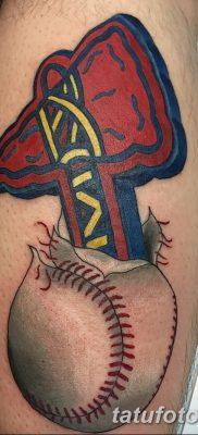 фото тату томагавк от 21.10.2017 №061 – tomahawk tattoo – tatufoto.com
