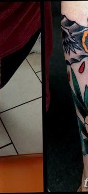 фото тату томагавк от 21.10.2017 №062 – tomahawk tattoo – tatufoto.com