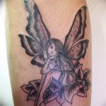 фото тату фея от 28.10.2017 №004 - Fairy Tattoo - tatufoto.com