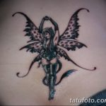 фото тату фея от 28.10.2017 №033 - Fairy Tattoo - tatufoto.com