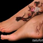 фото тату фея от 28.10.2017 №040 - Fairy Tattoo - tatufoto.com
