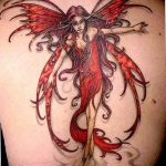 фото тату фея от 28.10.2017 №043 - Fairy Tattoo - tatufoto.com