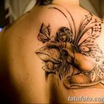 фото тату фея от 28.10.2017 №055 - Fairy Tattoo - tatufoto.com