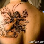 фото тату фея от 28.10.2017 №061 - Fairy Tattoo - tatufoto.com