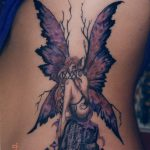 фото тату фея от 28.10.2017 №062 - Fairy Tattoo - tatufoto.com