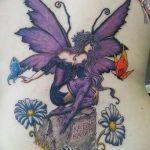 фото тату фея от 28.10.2017 №064 - Fairy Tattoo - tatufoto.com