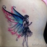 фото тату фея от 28.10.2017 №095 - Fairy Tattoo - tatufoto.com