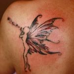 фото тату фея от 28.10.2017 №099 - Fairy Tattoo - tatufoto.com