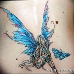фото тату фея от 28.10.2017 №115 - Fairy Tattoo - tatufoto.com