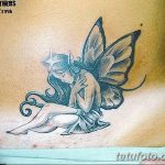 фото тату фея от 28.10.2017 №121 - Fairy Tattoo - tatufoto.com