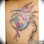 фото тату фея от 28.10.2017 №142 - Fairy Tattoo - tatufoto.com