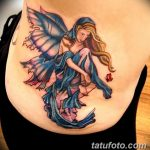фото тату фея от 28.10.2017 №151 - Fairy Tattoo - tatufoto.com