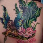 фото тату фея от 28.10.2017 №152 - Fairy Tattoo - tatufoto.com