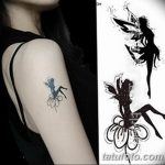 фото тату фея от 28.10.2017 №168 - Fairy Tattoo - tatufoto.com