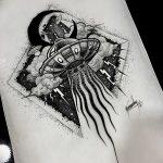 фото эскизы тату дотворк от 10.10.2017 №003 - sketches tattoo dotwork - tatufoto.com