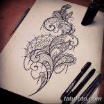 фото эскизы тату дотворк от 10.10.2017 №009 - sketches tattoo dotwork - tatufoto.com