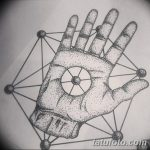 фото эскизы тату дотворк от 10.10.2017 №013 - sketches tattoo dotwork - tatufoto.com