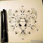 фото эскизы тату дотворк от 10.10.2017 №017 - sketches tattoo dotwork - tatufoto.com