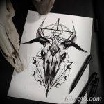 фото эскизы тату дотворк от 10.10.2017 №020 - sketches tattoo dotwork - tatufoto.com