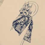 фото эскизы тату дотворк от 10.10.2017 №023 - sketches tattoo dotwork - tatufoto.com