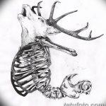 фото эскизы тату дотворк от 10.10.2017 №025 - sketches tattoo dotwork - tatufoto.com