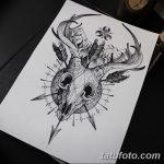 фото эскизы тату дотворк от 10.10.2017 №030 - sketches tattoo dotwork - tatufoto.com
