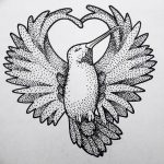 фото эскизы тату дотворк от 10.10.2017 №037 - sketches tattoo dotwork - tatufoto.com