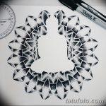 фото эскизы тату дотворк от 10.10.2017 №039 - sketches tattoo dotwork - tatufoto.com