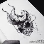 фото эскизы тату дотворк от 10.10.2017 №044 - sketches tattoo dotwork - tatufoto.com