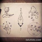 фото эскизы тату дотворк от 10.10.2017 №046 - sketches tattoo dotwork - tatufoto.com