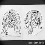 фото эскизы тату дотворк от 10.10.2017 №048 - sketches tattoo dotwork - tatufoto.com