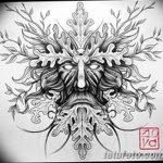 фото эскизы тату дотворк от 10.10.2017 №054 - sketches tattoo dotwork - tatufoto.com
