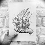 фото эскизы тату дотворк от 10.10.2017 №056 - sketches tattoo dotwork - tatufoto.com