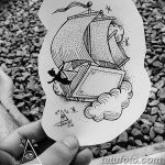 фото эскизы тату дотворк от 10.10.2017 №066 - sketches tattoo dotwork - tatufoto.com