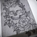 фото эскизы тату дотворк от 10.10.2017 №070 - sketches tattoo dotwork - tatufoto.com