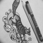 фото эскизы тату дотворк от 10.10.2017 №074 - sketches tattoo dotwork - tatufoto.com
