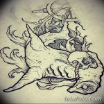 фото эскизы тату дотворк от 10.10.2017 №075 - sketches tattoo dotwork - tatufoto.com