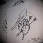фото эскизы тату дотворк от 10.10.2017 №078 - sketches tattoo dotwork - tatufoto.com