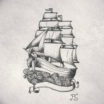 фото эскизы тату дотворк от 10.10.2017 №080 - sketches tattoo dotwork - tatufoto.com