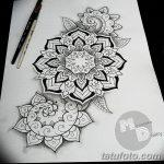 фото эскизы тату дотворк от 10.10.2017 №083 - sketches tattoo dotwork - tatufoto.com